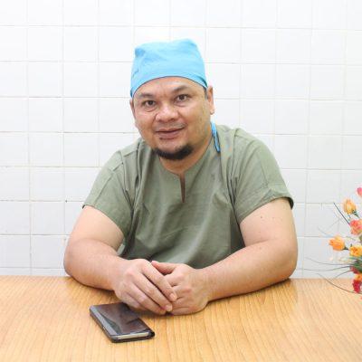 Dr. Akhmad Rusdi Nasution, Sp.An